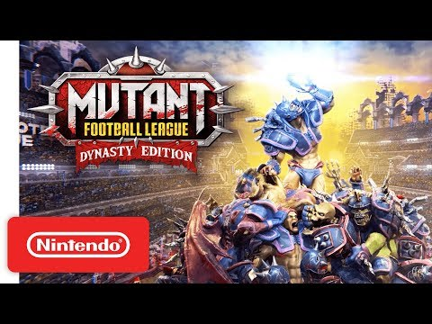 Mutant Football League: Dynasty Edition – Launch Trailer – Nintendo Switch
