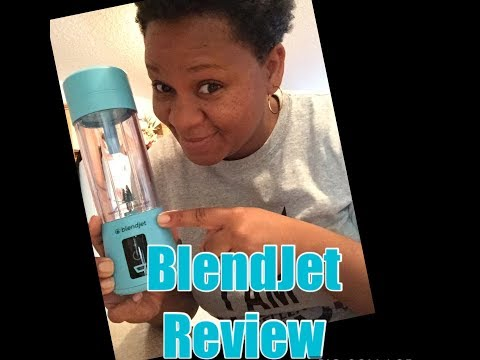 Unboxing BlendJet Blender Review/ Portable Blender/BlendJet Tutorial