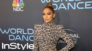 Jennifer Lopez's Sleek Top Knot Hair Tutorial   InStyle