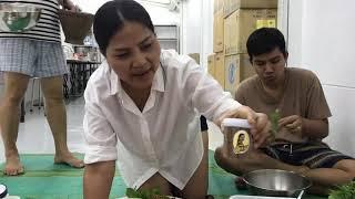 Sunaree-สนารี ทำซุปมะเขือใส่น้ำพริกปลาฉลาดและน้ำปลาร้าปรุงสุก แซบหลายเด้อ