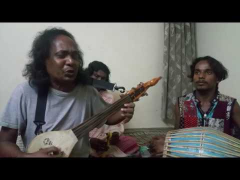 Matir deh mati hobe, Basudeb Das Baul, Bangalore Kalibari Electronic City phase 1