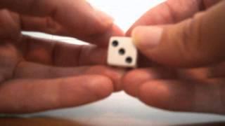 Where do the dots go on a dice?