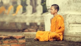 ☯ Música de Meditação Budista para Energias Positivas ॐ Monges Budistas Cantando Mantras Curativos