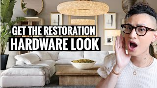 How To Get The Restoration Hardware Look   This is NOT a dupe video