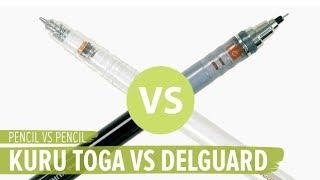 Pencil Versus Pencil: Kuru Toga vs DelGuard