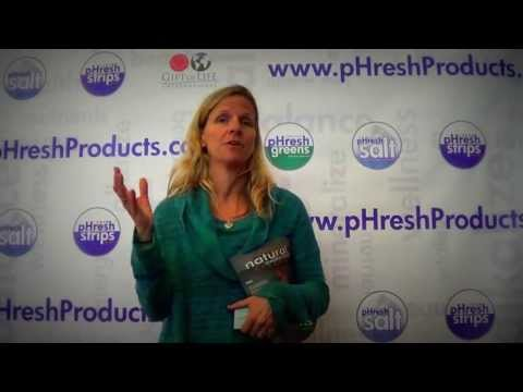 Natural Awakenings Publisher/Owner Kelly Martinsen Loves pHresh Greens
