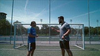 Laurent Duvernay Tardif Joue Au Soccer Avec Samuel Piette