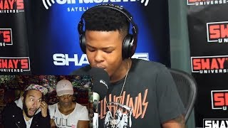 Nasty C Freestyle on Sway in the Morning (BEST REACTION!!!)