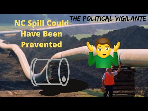 Feds & Oil Company Ineptness Allowed NC Pipeline Spill