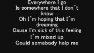 Miley Cyrus-Mixed up lyrics
