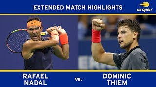 Rafael Nadal Vs. Dominic Thiem | 2018 US Open, QF