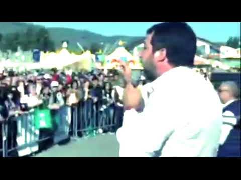 Matteo Salvini: «Se vinciamo le elezioni mi trasferisco in Umbria»