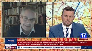 Profesor Roger Moorhouse: To był sojusz dwóch diabłów. Putin może nie rozumieć jego natury