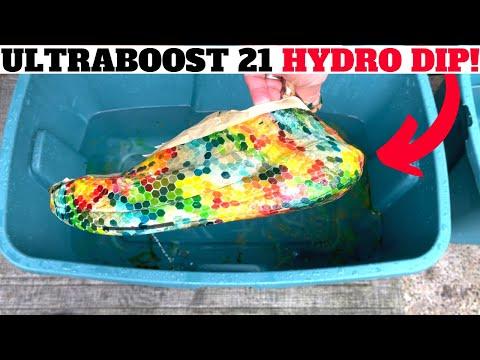 adidas ULTRABOOST 21 HYDRO DIP CUSTOM!