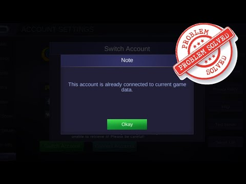 Mobile Legends Account Switch Error | STAMP TUBE