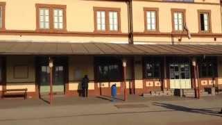 preview picture of video 'Dombóvár vasutállomás'