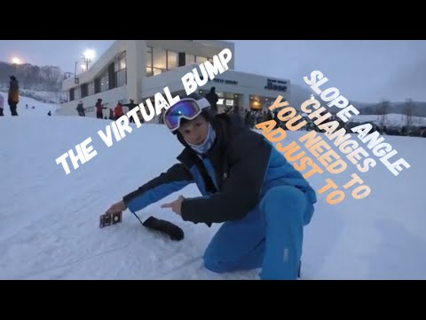 The virtual bump - explained with an iPhone angle meter