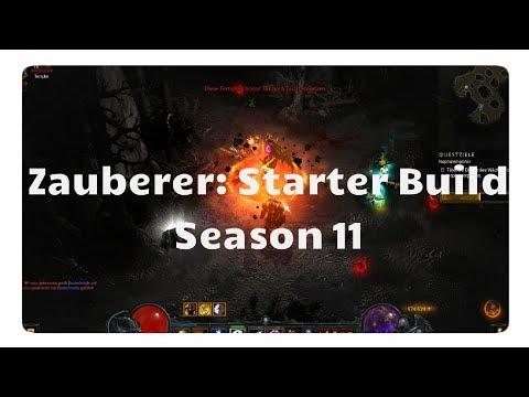 Diablo 3: Zauberer Starter Build für Season 11 (Tal Rashas Set)