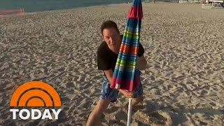 How To Protect Yourself From Unexpected Dangers Of Beach Umbrellas | TODAY