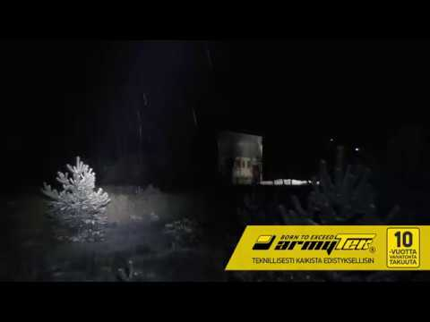 Armytek Barracuda Pro XHP35 HI valaisin. Kantama jopa 800 m