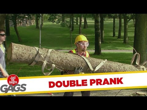 Funny Pranks: The Two In One Gag!