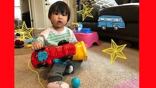 Vtech Drop & Go Dump truck with Lucas ToysReview