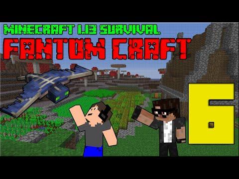 DESIGN FARMY! Minecraft survival 1.13! #6 |FANTOM CRAFT| w/CukeMan