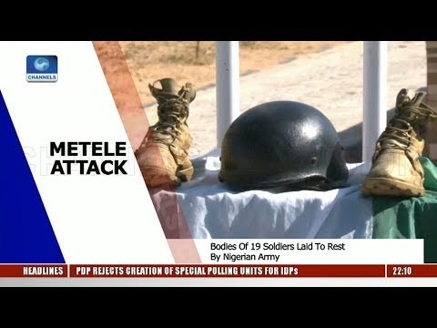Download Metele Attack: Army Vows To End Boko Haram Terrorism Pt.1 15/12/18 |News@10| HD Mp4 3GP Video and MP3