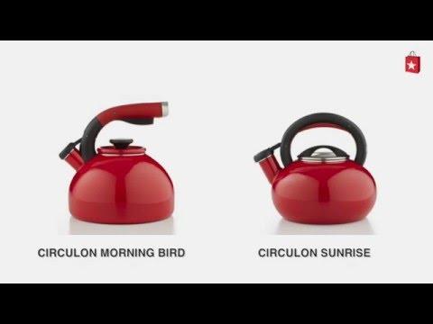 Circulon Sunrise 1.5 Qt. Tea Kettle. Comparison Video