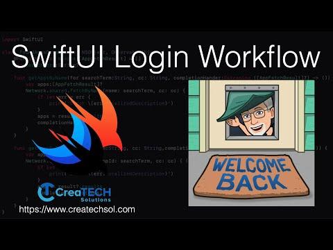 SwiftUI Login Screen Workflow thumbnail