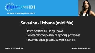 Severina - Uzbuna (midi file)