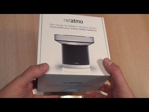 Test Regensensor / Regenmesser für Wetterstation Netatmo (Caulius probiert es aus)