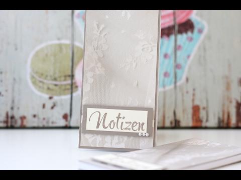 Anleitung: Notizblock / Geschenk für meine BestellerInnen | Stampin' Up!