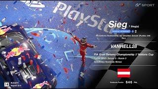 GT Sport FIA Championship Nations Cup Season 2 Round 3 Monza GP Gr. 4  Win / Sieg