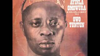 Alhadji Ayinla Omowura & his Apala Group – Owo Tuntun 1977