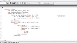 VHDL BASIC Tutorial - FOR/LOOP and WHILE/LOOP