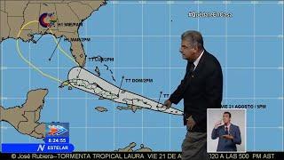 Dr. José Rubiera -ALERTA Tormentas tropicales Caribe 22-8-20