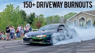 WORLD'S BEST HOME DRIVEWAY BURNOUTS!