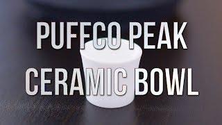 Puffco Peak Ceramic Bowl - Product Demo | GWNVCs Vaporizer Reviews
