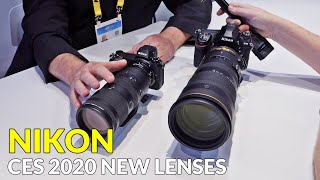 Nikon 70-200mm F2.8 Z and 120-300mm F2.8 F Zoom Lenses