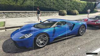 GTA 5 Mod Siêu Xe #4 - Cua Gái Bằng Siêu Xe Ford GT 2017