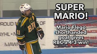 Red Bank Catholic 4 Middletown North 3 | Mario Flego shorthanded game winner