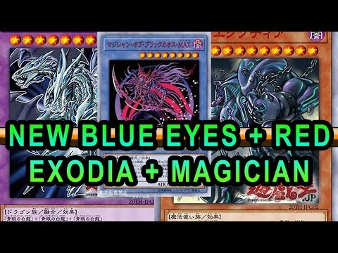 2019 NEW EXODIA NEW BLUE EYES AND RED EYES + CHAOS MAX MAGICIAN! LEGACY SUPPORT! New Yugioh Cards