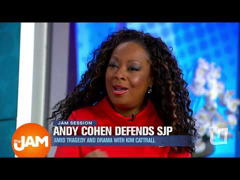 Star Jones Discusses Andy Cohen, SJP and