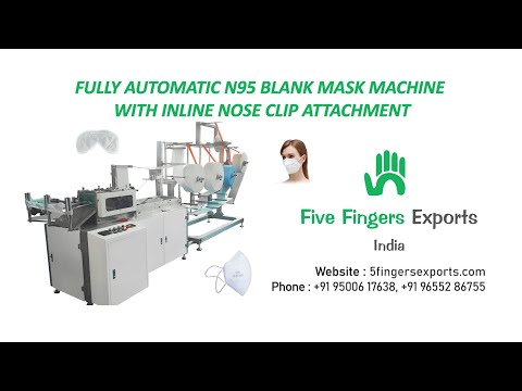 Automatic KN95/N95 Face Mask Making Machine