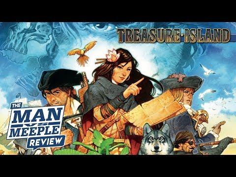 Treasure Island Review by Man Vs Meeple