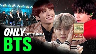BTS(방탄소년단) at 2019 MAMA All Moments