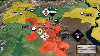 Продвижение Сирийской армии к Эль-Бабу: ИГИЛ практически в котле. Русский перевод.