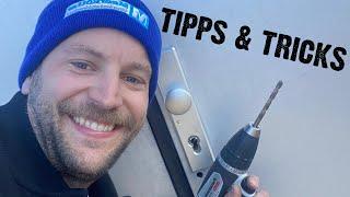 Schlüsseldienst Uli beim Zylinder knacken/aufbohren | Tipps & Tricks