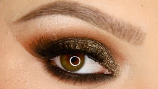 Gold New Years Eve Makeup Tutorial